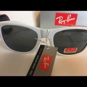 White Ray -Ban sunglasses new